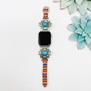 Accessories - Western Aztec Apple Watch Band - Serape